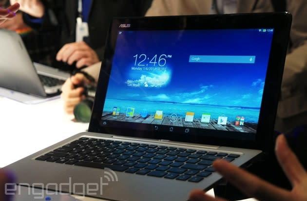 ASUS' Transformer Book Duet can switch between Android and Windows as a laptop or tablet (update: hands-on)