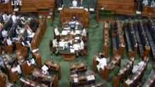 Congress, opposition parties boycott Lok Sabha proceedings, seeks withdrawal of farm bills