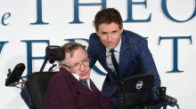 Eddie Redmayne pays tribute to Stephen Hawking, as we remember his pop-culture legacy