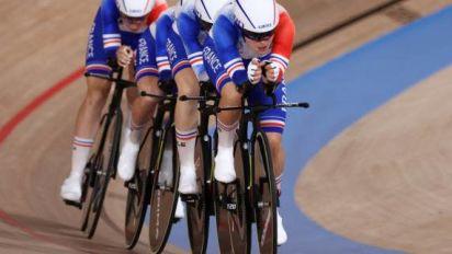 JO - Cyclisme sur piste (F) - Record du monde de la poursuite par équipes pour l'Allemagne aux JO de Tokyo, record de France pour les Bleues