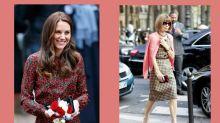英國兩大時尚代表碰面:凱特的這身孕婦造型,該連 Anna Wintour 也讚好吧!