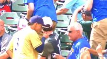 Brewers shortstop Orlando Arcia will happily steal your ice cream