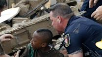 How is the Red Cross responding to Oklahoma disaster?