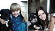 Antes e depois de 10 crianças que cresceram com seus pets