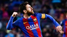 Messi gamble pays off as Barcelona stays atop La Liga with 7-1 win over Osasuna