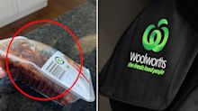 Woolworths customer pleads for help over strange chicken pack