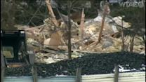 Explosion destroys house, kills 1, injures 2 in Clearfield Township