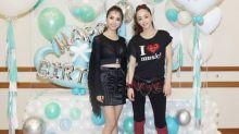 Jolin Tsai celebrates birthday with Namie Amuro