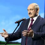 Belarus president closes some borders, puts army on alert