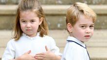 Süßes, bisher unbekanntes Foto von Williams und Kates Kindern