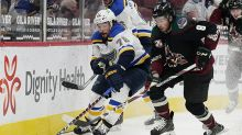 Coyotes overcome deficit to beat Blues, overtake St. Louis in standings