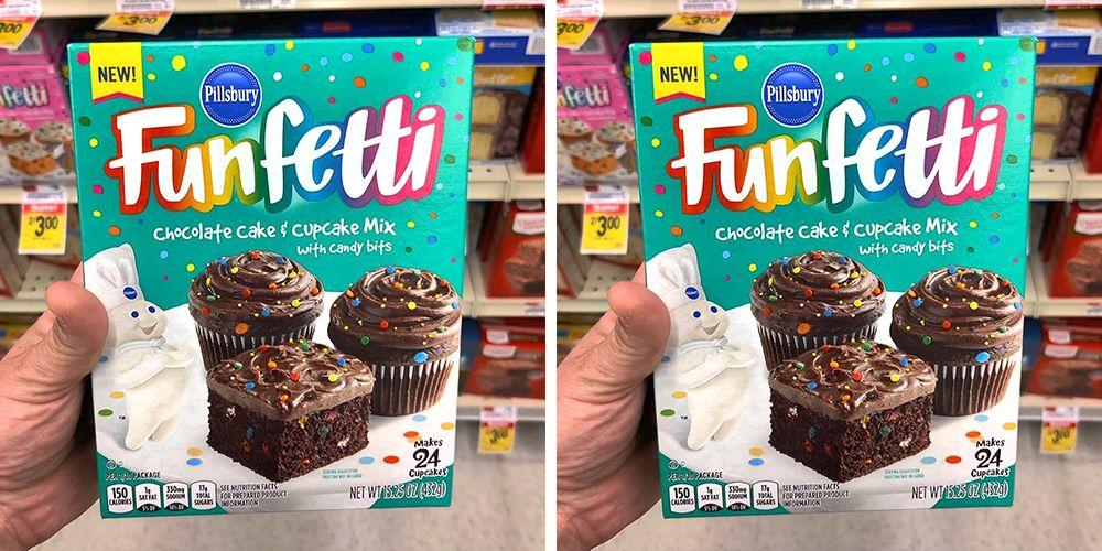 Funfetti Now Comes In A Chocolate Cake Version So Get Ready To Bake