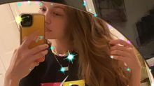 Gigi Hadid Encourages Fans to Vote in a Post-Pregnancy Selfie