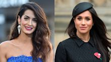 An insider reveals Amal Clooney and Meghan Markle have a 'natural friendship'