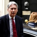 UK's Hammond warns of hit to economy from a no-deal Brexit
