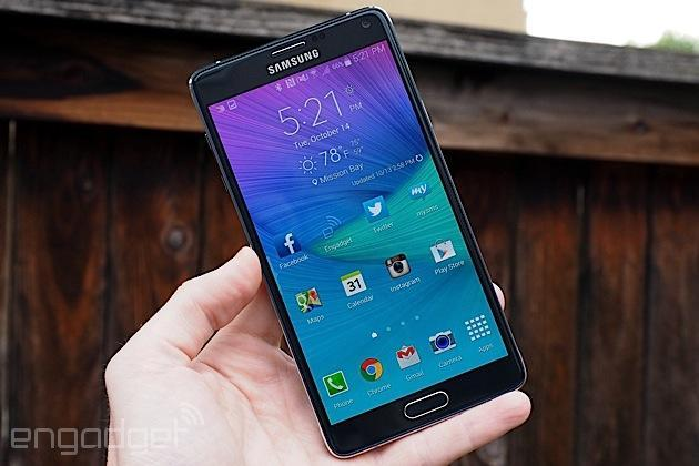 Where to buy Samsung's Galaxy Note 4