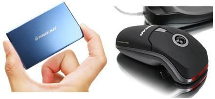 IOGEAR's presentation mouse, 4GB wallet drive ready for class