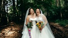Two sisters tied the knot in a joint wedding and 'wouldn't change it for the world'