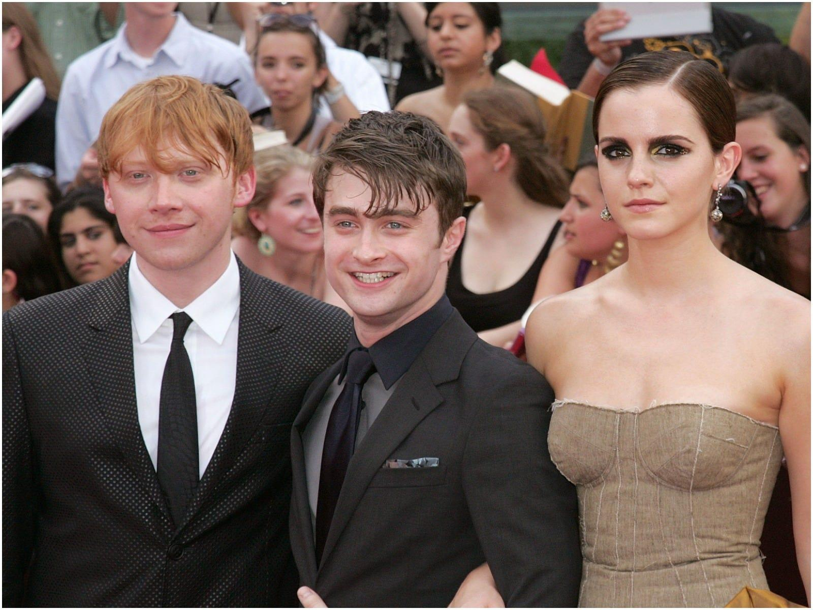 Rupert Grint says fame is the one thing he, Emma Watson, and Daniel Radcliffe never talk about together