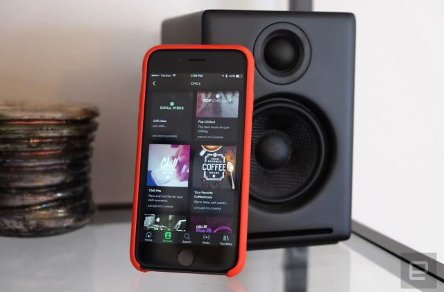 Spotify looks into building its own hardware
