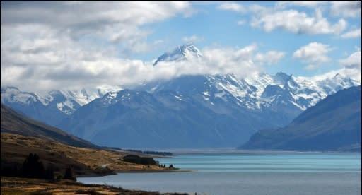 紐西蘭冰河危機 僅剩不到一半