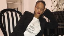 Proceeds From Dior's Feminist T-Shirt Will Benefit Rihanna's Charity
