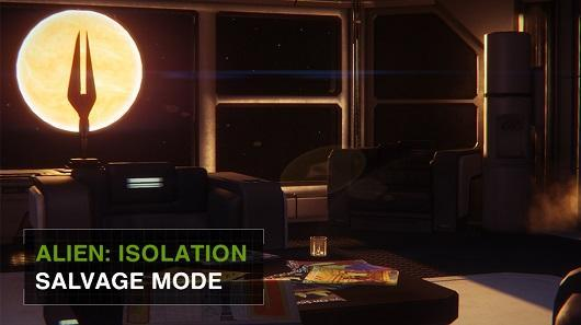 Alien: Isolation's third DLC adds one-life-only Salvage Mode
