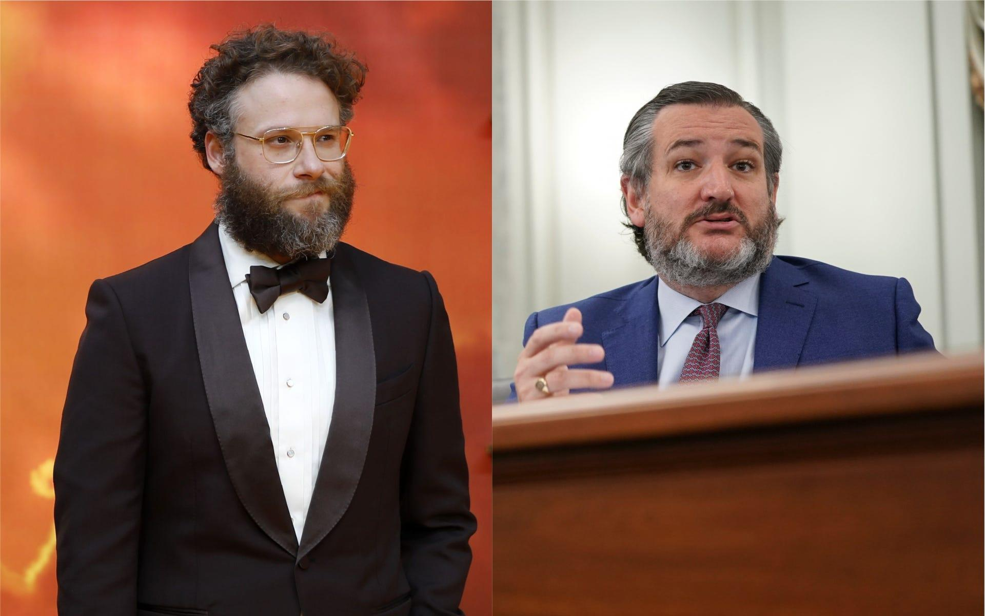 Seth Rogen, Ted Cruz swap insults on Twitter over Paris Climate Accord, Disney's 'Fantasia'