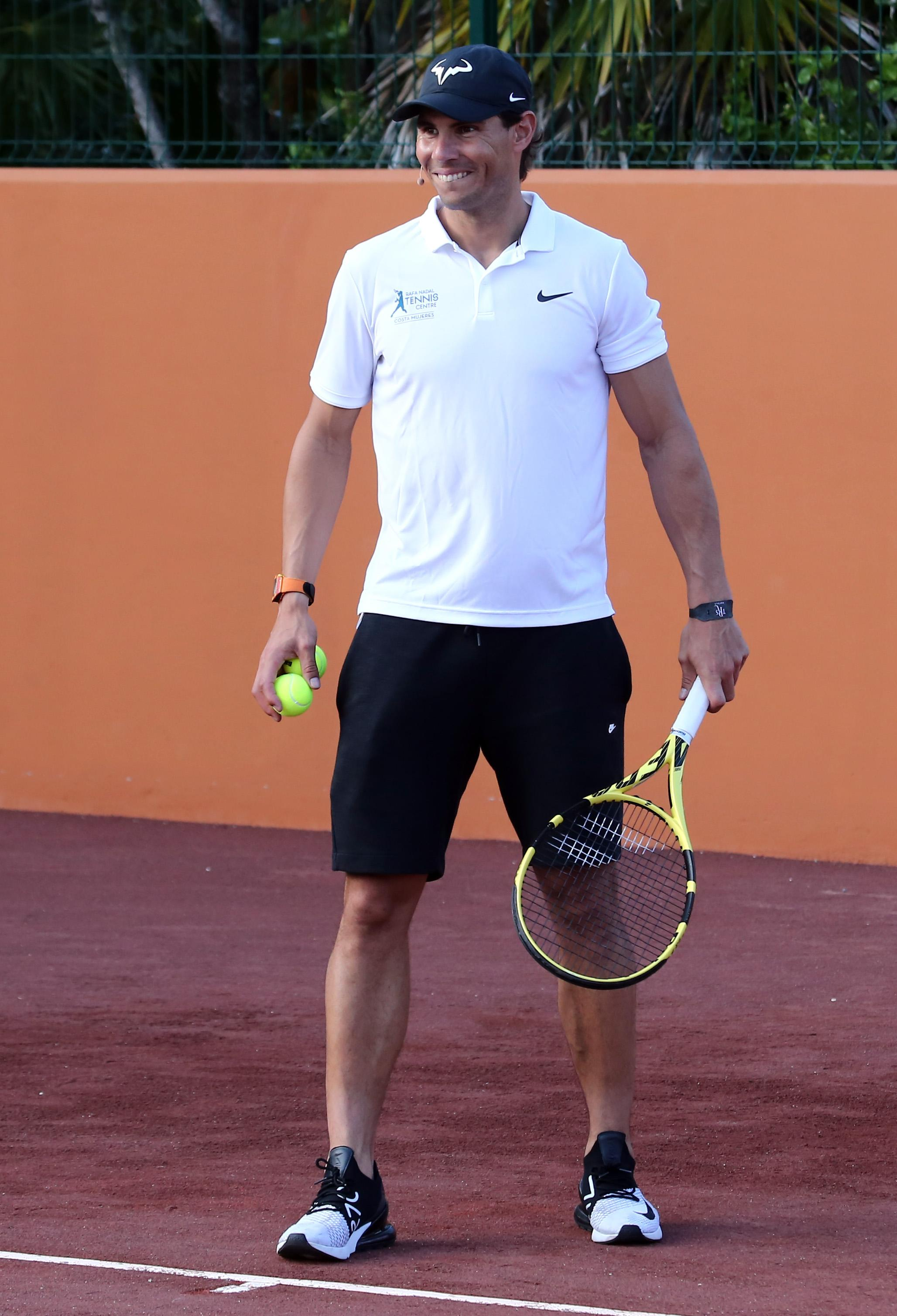 Clay King Nadal Opens Tennis Academy In Mexico