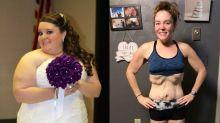 """Mulher adota rotina saudável e perde 75 quilos por um motivo especial: """"Quero ser mãe"""""""