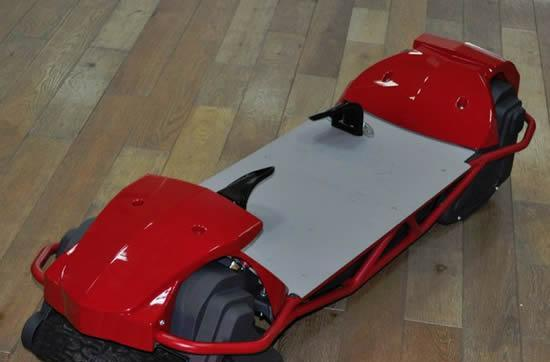 Scarpar off-road powerboard coming December 2011, just in time to replace Santa's sleigh