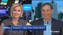 ViaSat CEO on broadband satellite service