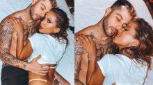 Gui Araújo se declara para Anitta com fotos quentes na cama