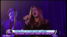 Lisa Marine Presley 'penniless' after blowing $100 million of dad's fortune