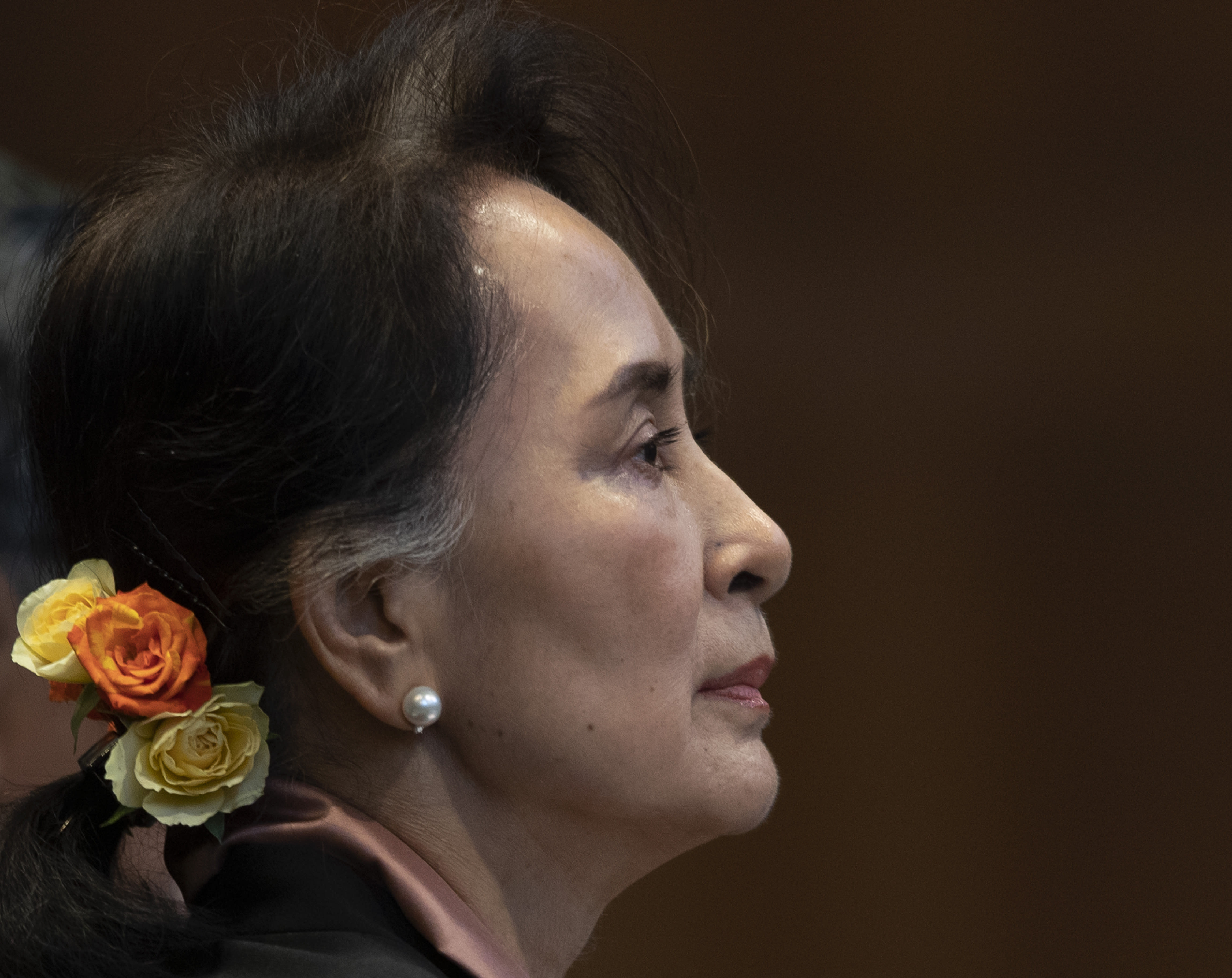 Suu Kyi in court to refute Myanmar genocide allegations