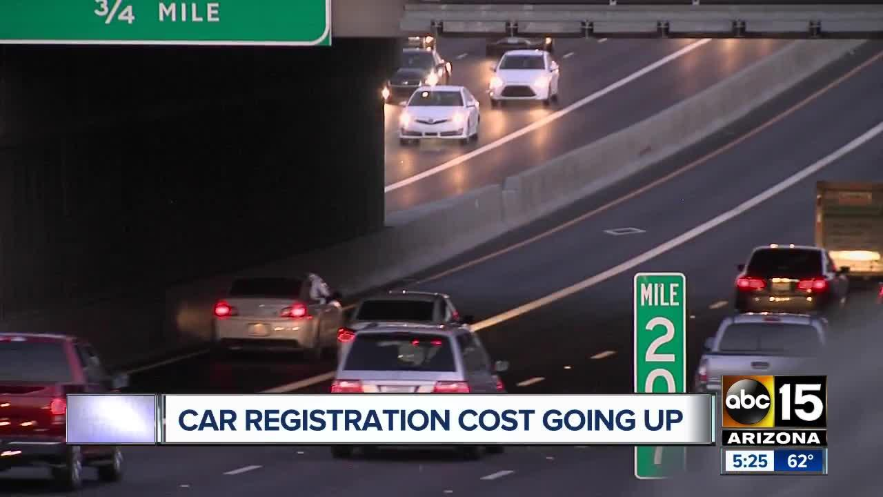 Arizona Vehicle Registration Cost Going Up With New Public Safety Fee Video