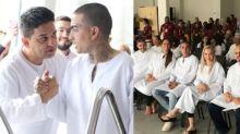 """MC Guimê é batizado em igreja evangélica: """"Sou um milagre"""""""