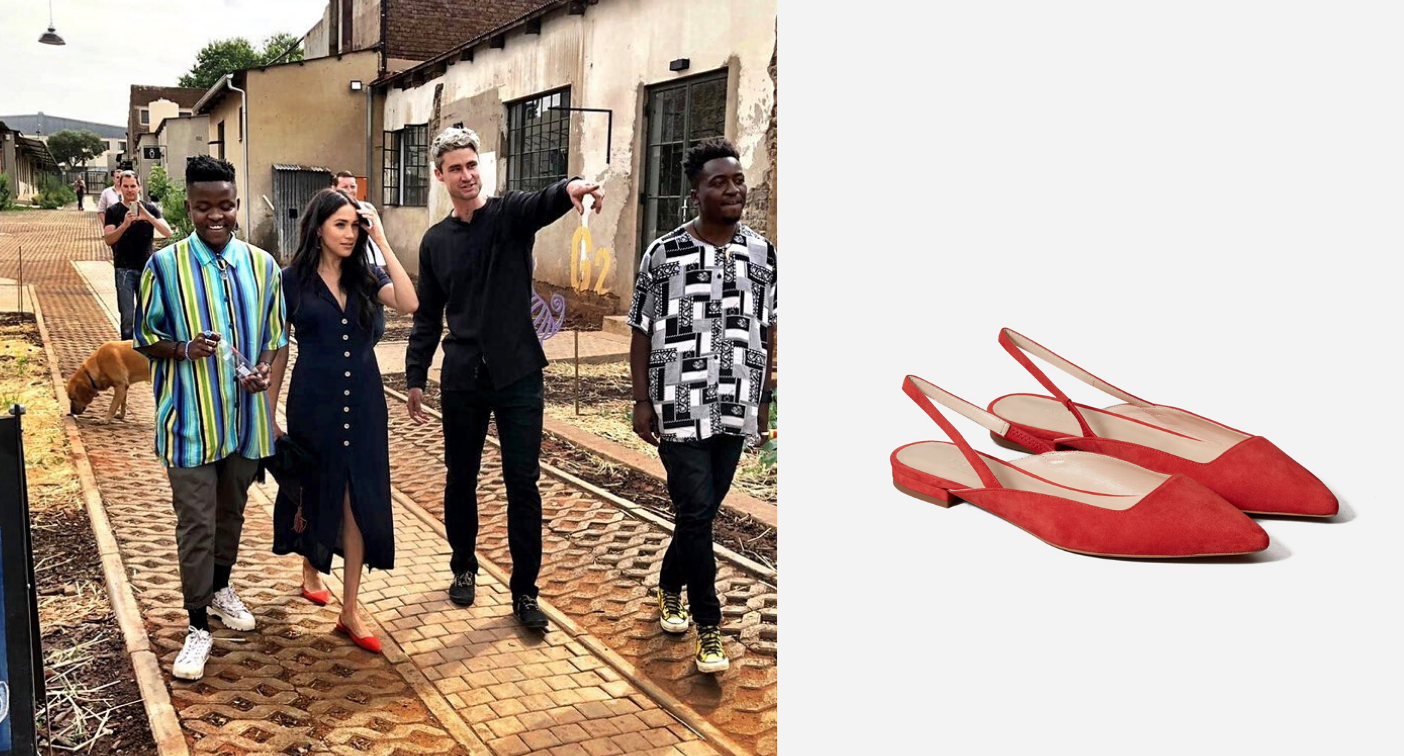 Attention royal fashion fans! Meghan Markle's chic Everlane flats are on sale right now for 40% off