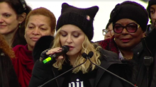 Madonna at Women's March: 'I have thought an awful lot about blowing up the White House'