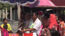 Villagers in rural Thailand celebrate country's New Year