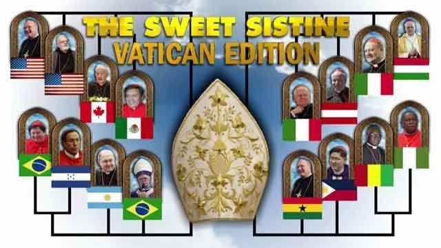 'Sweet Sistine' of papal frontrunners