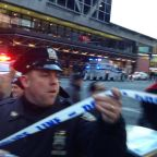New York bus terminal 'explosion': NYPD police respond to reports of blast in Manhattan