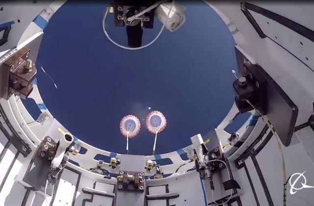 Boeing successfully tests Starliner's parachutes ahead of second flight attempt