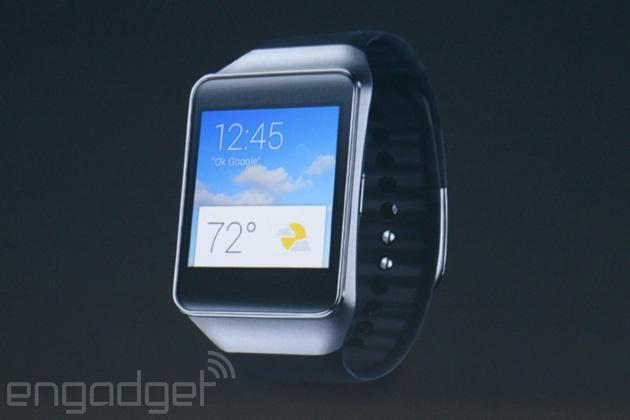 Samsung unveils Gear Live, its first smartwatch using Android Wear
