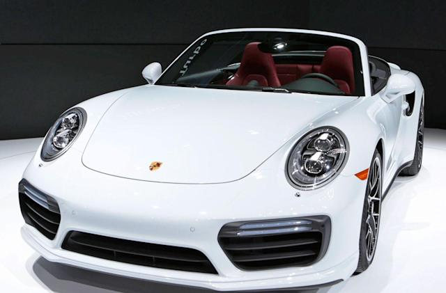 Porsche is working on a plug-in hybrid version of the 911