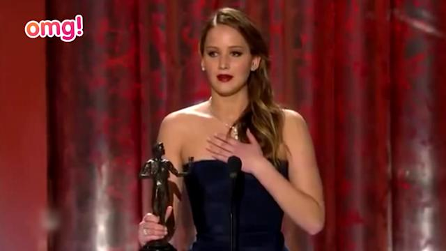 Jennifer Lawrence, Daniel Day-Lewis + Downton Abbey win at the SAG Awards