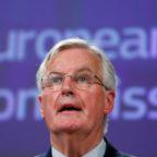 """EU's Barnier says draft Brexit deal is """"fair and balanced"""""""