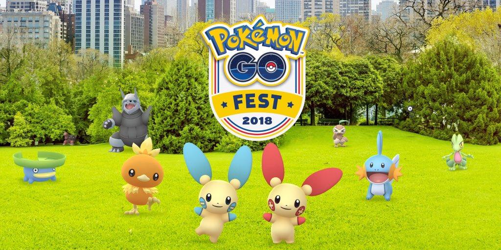 Pokémon Go' Fest Rewards to Include Torkoal and Unknown