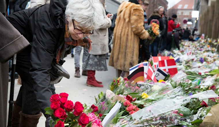 Danes to honour attack victims amid tight security
