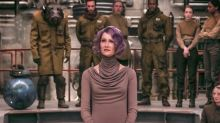 Laura Dern shares new photo of her purple-haired The Last Jedi character